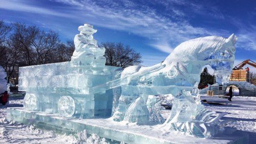 Winnipeg in January